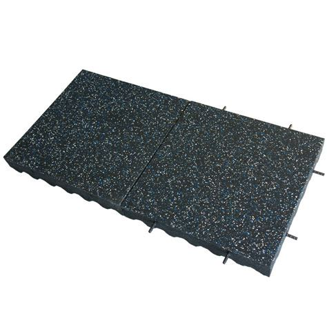 Eco Safety 3 inch Rubber Playground Tiles