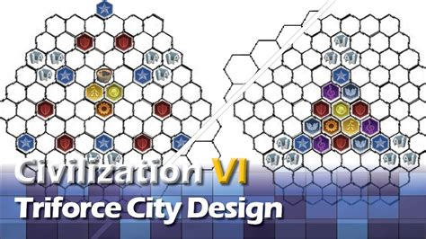 civilization  triforce city design youtube