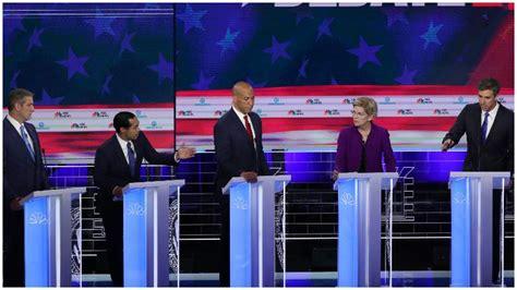 trump labels  democratic debate boring