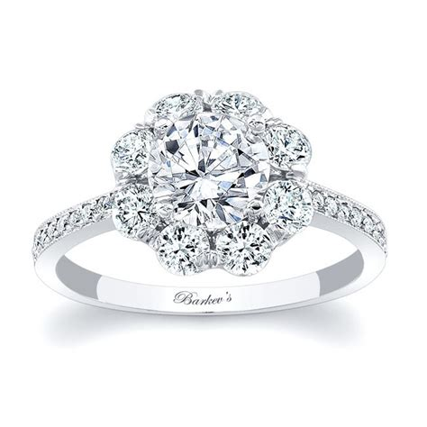 barkev s flower engagement ring 7661l barkev s