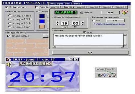 afficher l horloge sur le bureau windows 7 horloge sur pc bureau gratuit 28 images horloges