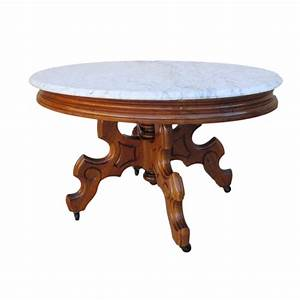 Antique victorian marble top coffee table antique for Antique marble coffee table and end tables