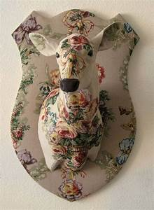 Floral Camouflage Faux Deer Trophy $1,250.00 USD ...