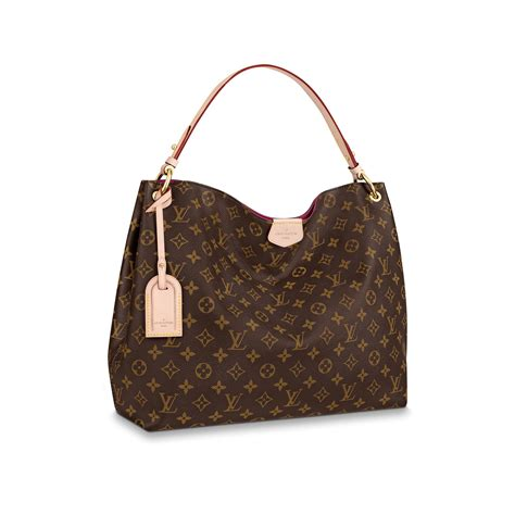 graceful mm monogram canvas handbags louis vuitton