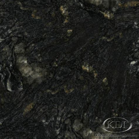 black titanium granite kitchen countertop ideas
