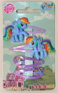 My little pony hair rainbow dash hair clips by Crisnanegab ...