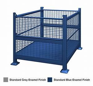 Standard Sheet Metal Steel Bins  U0026 Wire Baskets