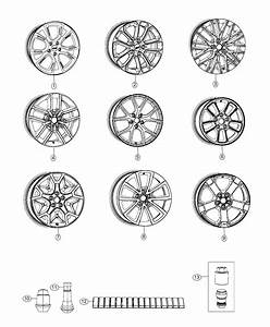 Jeep Grand Cherokee Wheel  Aluminum  Front Or Rear   18x8