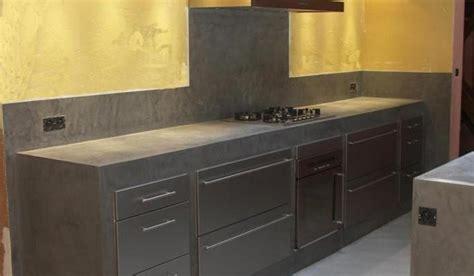 beton pour plan de travail cuisine cuisine béton ciré peinture photos et conseils