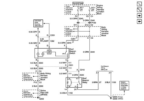 2011 Gmc Trailer Light Diagram by I Ve Got A 2000 2500 Gmc With The Snowplow Option