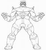 Thanos Coloring Pages Infinity War Power Printable Avengers Marvel Coloringonly Categories Getcolorings Favourites sketch template