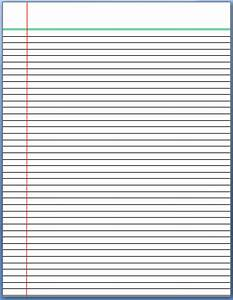 Free lined writing paper template - mfacourses887 web fc2 com