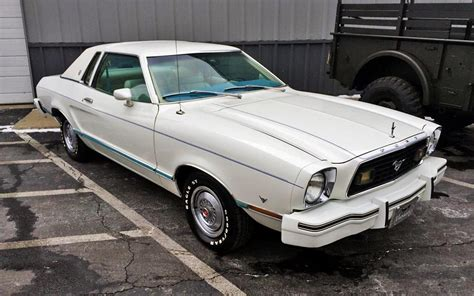 1978 Mustang Ii by One Owner Ghia 1978 Ford Mustang Ii Coupe