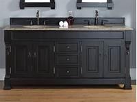 black bathroom vanities Updating With Antique Bathroom Vanity - Interior Design Inspirations