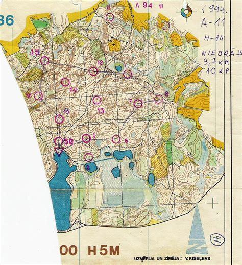 Orientēšanās kartes: jūnijs 1994