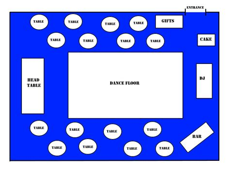 wedding reception layout the science behind your wedding reception