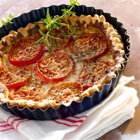 recette tarte  la tomate   la moutarde de kelly