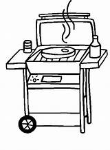 Bbq Grill Coloring Clipart Pages Clip Barbecue Bar Grilling Template Stok Silhouette Sandwich Colour Panda Crafts Master Tastic Heart Cliparts sketch template