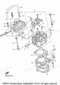 Yamaha Motorcycle 2008 Oem Parts Diagram For Cylinder
