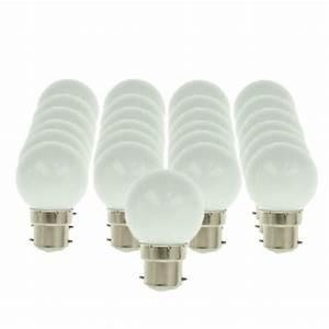 Ampoules A Baionnette Couleur : pack de 25 ampoules led b22 1w 50lm sph rique 6500k ariane ~ Edinachiropracticcenter.com Idées de Décoration