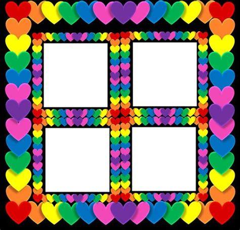 montage photo cadre color pixiz pixiz photos colors and frames