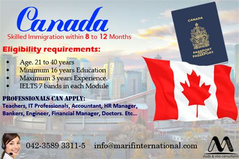 Canada Immigration Through Express Entry