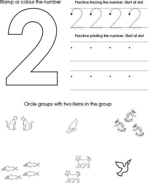 number two worksheet free preschool printable preschool math numbers preschool numbers