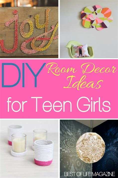 diy room decor ideas  teens girls  love