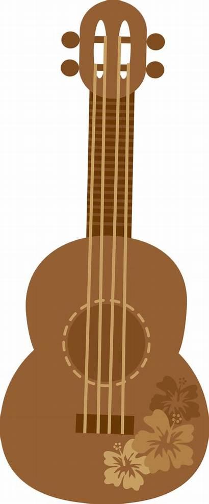 Clipart Hawaiian Guitar Luau Aloha Ukulele Stitch