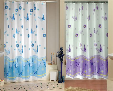 Elegant Extra Long And Wide Fabric Shower Curtain ,two