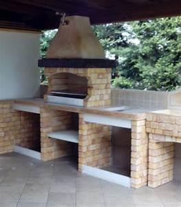 Stunning Cucina In Muratura Per Esterni Con Barbecue Ideas