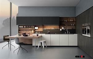 Scandinavian kitchen decor small l shaped kitchen ideas for Modern kitchen curtains 2018
