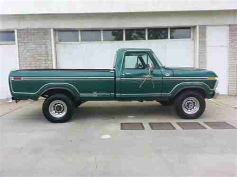 Buy used 1978 FORD F250 4X4 RANGER LARIAT 4 SPEED V8 1