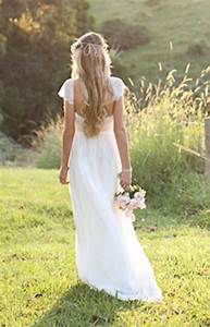 beautiful low back wedding dress with lace capped sleeves With silk wedding dresses low back