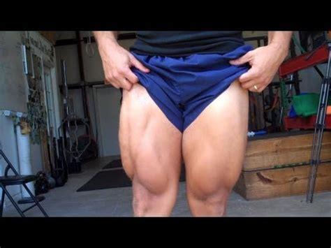 leg  thigh exercise workout youtube