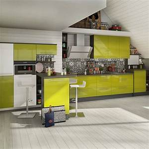 cuisines vertes aix ciabizcom With plan de maison design 10 cuisine moderne verte maison et jouets 35 magasin de