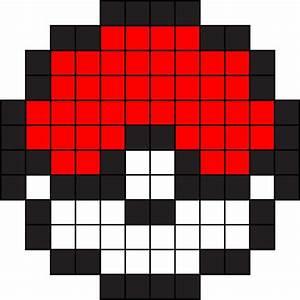 """8-Bit Pokéball"" Stickers by pikadru Redbubble"