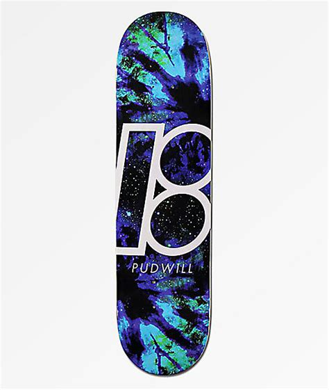 """Plan B Pudwill Nebula 80"""" Skateboard Deck"""