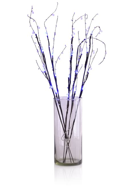 Light Up Branches by Led Light Up Branches Blue Ebay