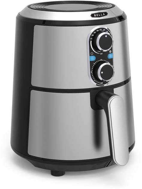 We've all imagined the possibility of robots taking over human jobs. B.ella 3-qt. Stainless Steel Air Fryer | Stainless steel, Grilled veggies, Coffee maker