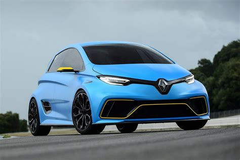 renault zoe renault zoe e sport track reviews prove it 39 s not just a