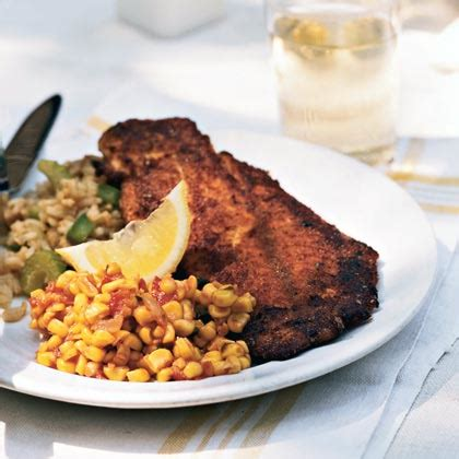 grouper blackened cajun dinner recipes recipe menu saturday myrecipes harrelson lee