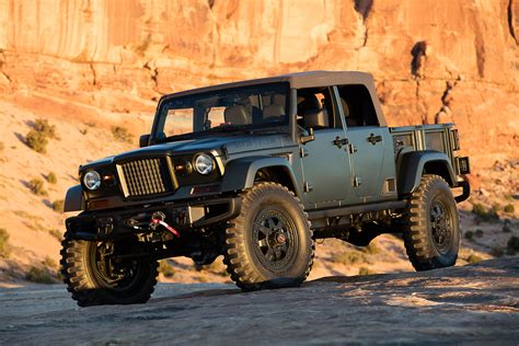 Jeep M715 Concept by The Jeep Crew Chief 715 Concept Vehicle Torqued Magazine