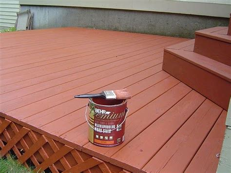 Best Semi Solid Deck Stain