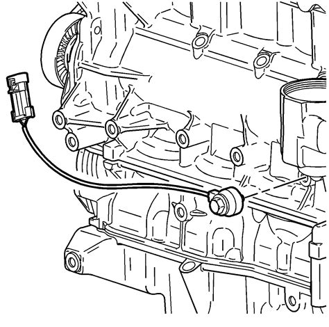 2003 Knock Sensor Wiring Diagram by Repair Knock Sensor Replacement 2003