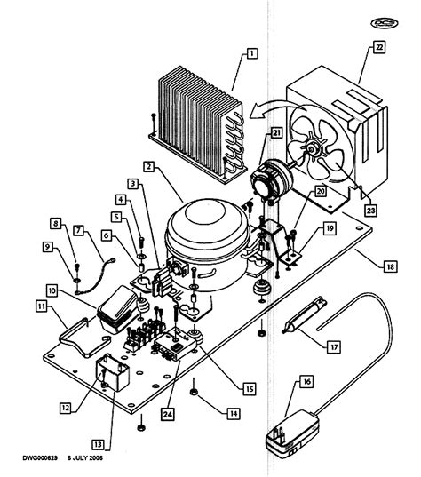 refrigerator compressor parts diagram wiring diagram list