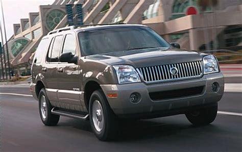 how do cars engines work 2007 mercury mountaineer parking system used 2002 mercury mountaineer pricing for sale edmunds