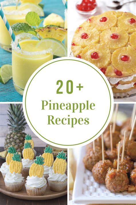 pineapple recipes  idea room