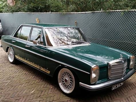 Дал прокатиться mercedes w210 дал угла прикол. Custom Mercedes 250 w114 slammed with some beautiful BBS mesh wheels (With images) | Mercedes ...