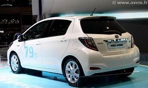 Toyota Yaris Hybride France : gen ve 2012 la toyota yaris hybride partir de ~ Gottalentnigeria.com Avis de Voitures